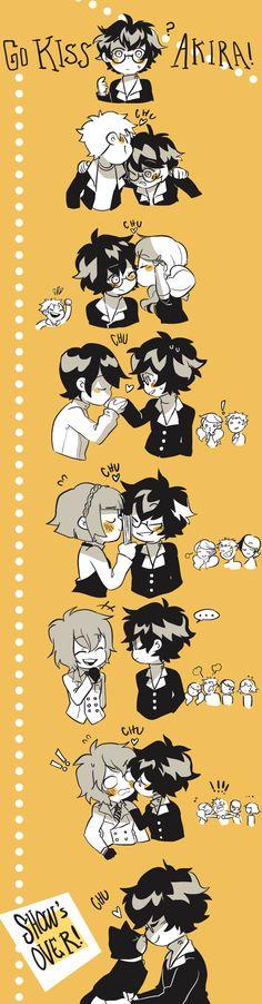 P5 - kiss akira day by Rockafiller