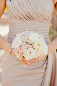 Cream and taupe wedding