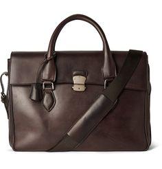 Berluti - E'Mio Leather Briefcase|MR PORTER
