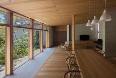 Japanese Modern House, Natural Interior, Forest House, Window Design, First Home, My Dream Home, Interior Architecture, My House, House Design