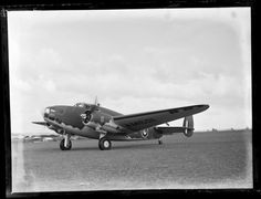 Royal New Zealand Air Force base, Hobsonville, Lockheed Hudsons first test flights, 1920s