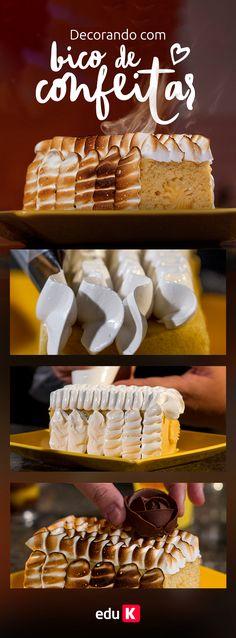 Você sabe usar bicos de confeitar para decorar os seus doces e bolos? Clique na imagem e aprenda com a gente ;)