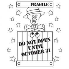 fragile halloween coloring pages picture 10 550x550 picture