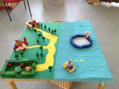 Verteltafel kikker Winter Theme, Diy For Kids, Storytelling, School, Projects, Log Projects, Blue Prints