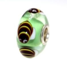 What a great shaped Bee!  Trollbeads Gallery - Classic Unique 8197, $45.00 (http://www.trollbeadsgallery.com/classic-unique-8197/)