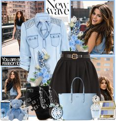 """Get The Look:Selena Gomez"" by antemore-765 on Polyvore"