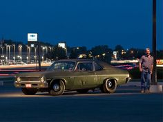 1972 Chevy Nova Side At Night Photo 1