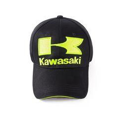 Kawasaki Motorcycles Car Logo Mens Fo Womens Adjustable Trucker CapSports Travel Hat