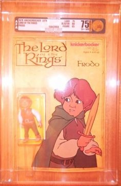 Retro Lord Of The Rings Action Figures