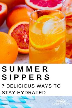 7 Summer Sippers- These healthier DIY alternatives to sugary drinks always keep my family hydrated and cool! Easy Drink Recipes, Clean Eating Recipes, Healthy Recipes, Healthy Meals For Kids, Healthy Options, Refreshing Drinks, Summer Drinks, Sports Snacks