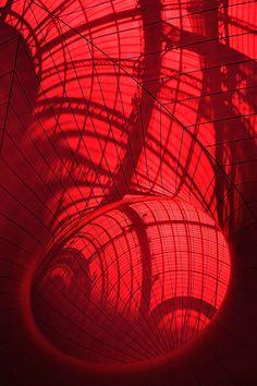Anish Kapoor - Leviathan - Monumenta 2011 Color and Line Anish Kapoor, Anselm Kiefer, Art Rouge, Modern Art, Contemporary Art, Pix Art, Plastic Art, Red Balloon, Grand Palais