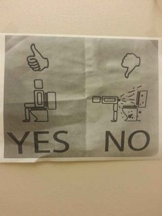 """Because frankly, if there is one thing we should be """"worried"""" about in the bathroom… it's shit like this."""