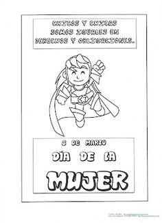 EN EL AULA DE APOYO: DÍA DE LA MUJER Women In History, Coloring Pages, Acting, Comics, Malaga, Ideas Para, Social Equality, Frases, Educational Crafts