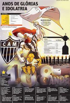 Anos de glória e idolatria - 108 anos de Atlético Mineiro | JORNAL O TEMPO