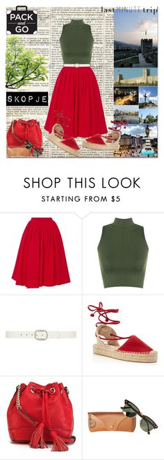 """""""Macedonia- Skopje"""" by hancicaf on Polyvore featuring Natasha Zinko, WearAll, Dorothy Perkins, Soludos, Rebecca Minkoff and Ray-Ban"""