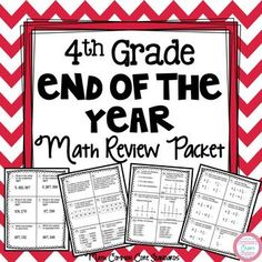 Summer Math Review (rising 5th grade)   Random Education Stuffs