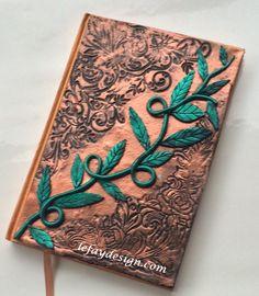 Tendril  Polymer Clay Journal / Buch / Notizbuch / von leFayDesign