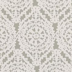 Felicity in Dove | Weitzner Limited #fabric #cotton #gray #cream