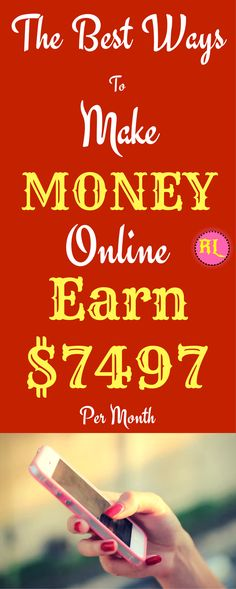 Online Business - Make money online in 2017. The best ways to earn passive income online from home. Work from home and earn $7497 per month with genuine methods. Click the pin to see how >>>