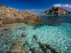 The archipelago of La Maddalena is a group of islands located north-east of Sardinia, a National Park covering an area of ​​over hectares of land and sea, unique in the world Oh The Places You'll Go, Places To Travel, Places To Visit, Dream Vacations, Vacation Spots, Italy Vacation, Top 10 Destinations, Isle Of Capri, Beautiful Beaches