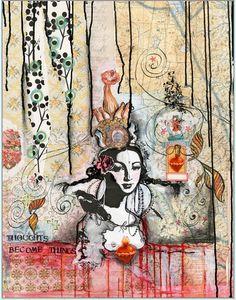 by Anahata Katkin Kunstjournal Inspiration, Art Journal Inspiration, Art Inspo, Mixed Media Collage, Collage Art, Collage Ideas, Art Journal Pages, Art Journaling, Papaya Art