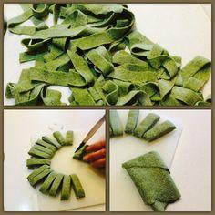 Tagliatelle spinacine :)