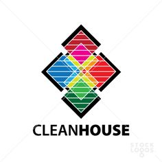 This logo is perfect for house cleaning services!