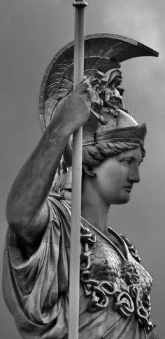 Athena Goddess of War – Art Italian Renaissance Art, Renaissance Kunst, Statue Tattoo, Athena Statue, Rembrandt, Athena Tattoo, Images D'art, Greek Statues, Art Sculpture