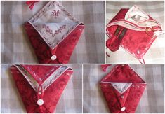Tuto pochette origami - le blog mona66 Couture, Alphabet, Patches, Blog, Tuto Sac, Projects, Sewing, Alpha Bet, Blogging
