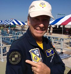 Honorary Blue Angel, Honorary Thunderbird, ICAS Sword of Excellence recipient, and the very best in the business....Rob Reider  www.Sierrahotel.net Fan Picture, Blue Angels, Air Show, Sword, Captain Hat, Business, Amazing, Pictures, Photos