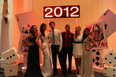 casino prom | The theme was Casino Royale… just in case you couldn't tell with ...