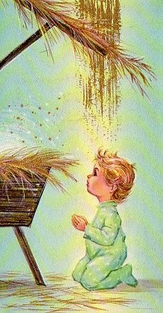 Away in a Manger, 1996 (w/c) | Keeping Christmas | Pinterest ...