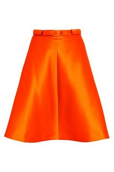 Silk A-line Skirt - Just in - Shop - London-Boutiques.com #Carven