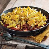 Lamb pasta pie Recipe - Quick and easy at woolworths.com.au