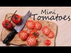 Miniature Tomatoes - Polymer Clay Tutorial - YouTube