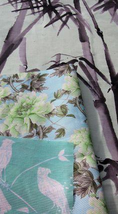 Cotton + Quill Terrace Collection | Bambusa, Shu Te's Chintz, Cuckoo