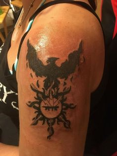 Dark-Hunters series Acheron & Styxx emblems
