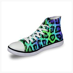 FOR U DESIGNS Cool Leopard Style Women's High-Top Casual Fashion Sneaker Size 9 (*Partner Link)