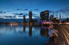 rijnhaven rotterdam reflections