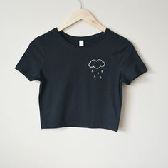 Rain Cloud Crop Top - Store Envy