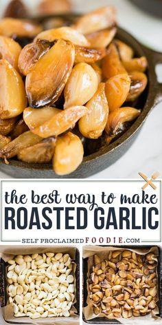 Garlic Recipes, Veggie Recipes, Vegetarian Recipes, Cod Recipes, Carrot Recipes, Beef Recipes, Garlic Ideas, Chicken Recipes, Garlic