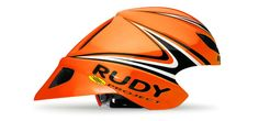 Rudy Project Triathlon / Time Trial Helmet - WINGSPAN ORANGE FLUO/BLACK/WHITE SHINY UNISIZE