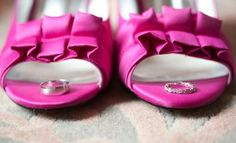 our wedding rings in my shoes