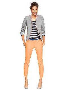 Great spring outfit; Womens Clothing: Womens Clothing: Featured Outfits Khakis by Gap | Gap