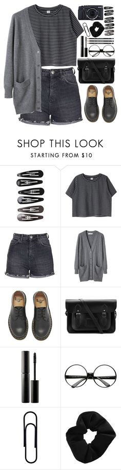 """I'll still love your garden"" by annaclaraalvez on Polyvore featuring moda, Clips, Topshop, Cacharel, Dr. Martens, The Cambridge Satchel Company, Surratt, women's clothing, women e female"