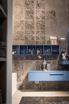 Wall and Deco IMPRINTING – Home living color wall treatment kitchen design Interior Design Living Room, Interior Decorating, Paint Your House, Indian Interiors, Decor Inspiration, Tadelakt, Wall Treatments, Textured Walls, Interiores Design