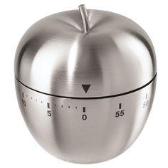 OGGI Stainless Steel Apple 60 Minute Kitchen Timer & Reviews   Wayfair