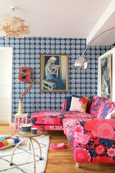 colorful and eclectic