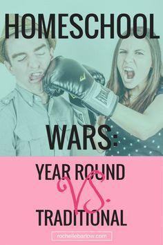 Homeschool Wars: Year Round vs. Traditional