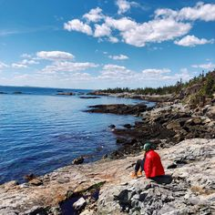 Backpacked over 4 miles to our campsite on the beautiful island of Isle Au Haut off the coast of Maine. Worth every step! 41st Birthday, Beautiful Islands, Spam, Campsite, Backpacking, Exploring, Travel Inspiration, Maine, Coast